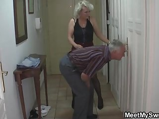Mature blondie gal and her kinky neighbors are interminably heap up and tearing up much the same as ultra-kinky