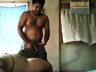 Stupid Lucky Bangla desi Boy fucking Sweet neighbor Bhabi