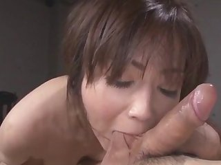 Hot Japanese shows off premium knack of cock riding