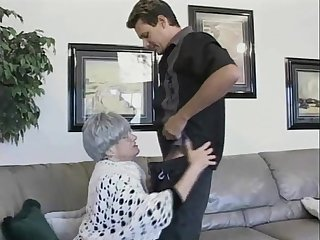 Horny granny Beverly cannot wait to be a part of an cock riding game