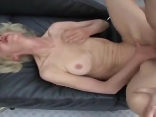 Winsome experienced lady gets her ass abused