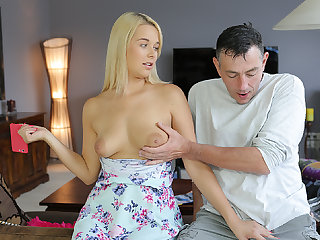 DADDY4K. Nasty old man catches the right moment to...