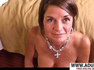 Sexy GILF Tessa POV Sex
