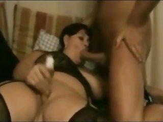 Retro porn with danish plumper