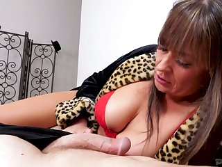Lewd Elexis Monroe is mature big breasted blowlerina who loves sucking dicks