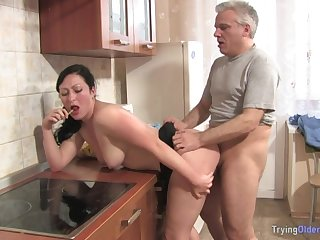 Mature Man Has Fun With Curves Neighbour - FORNICATE HARD SEX