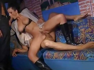 pretty milf get fucked by friend and voyer