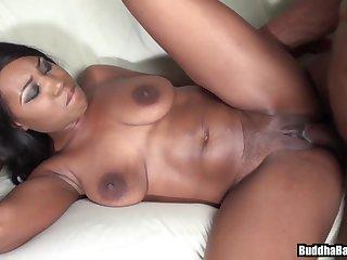 Tempting Ebony Bootie (1st Time On Cam-anal) - voyeur