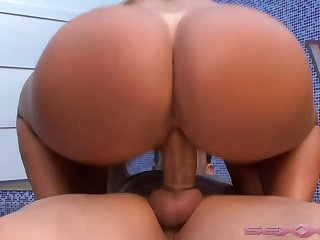 Cleo Cadilac Knows How To Handle A Huge - big breasts
