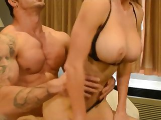 Probably My Best Nail! Busty brunette babe has hardcore sex