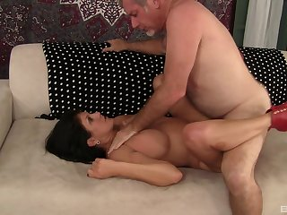 Voluptuous mature loves dick more than anything