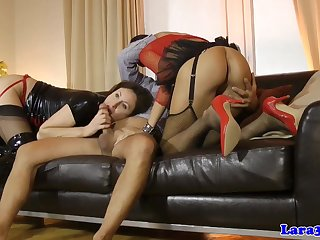 Stockings Brit In Ffm Cockriding With Bum