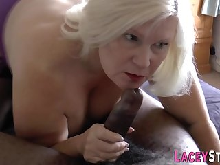 Penis gobbling fatty granny screwed - low quality