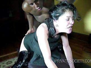 amoral grandma interracial sex