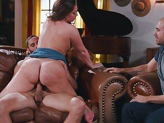 Big booty girl, Maddy OReilly, insane cuckold pleasures
