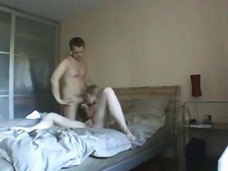Exotic private doggystyle, sofa, hardcore porn clip