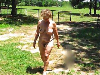 Seemoramee, Mature Nude Female Non-sexual activities