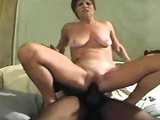 Sensual mature in high heels fucked doggystyle