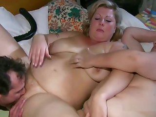 Granny Gets Her Body All Cleaned Up