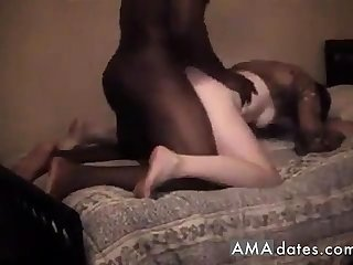Sexy mature white girl lets hubby tape her fucking bbc