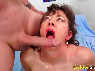 Cock Hungry Mature Babe Morgan Takes a Long Rod Nice and Deep